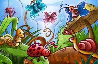 Удивительный мир насекомых!